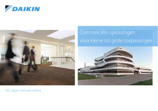 Daikin Commerciele oplossingen solution guide ECPNL15-100