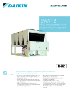 EWAT-B R-32 koudwatermachines productflyer ECPNL18-426