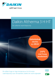 Daikin Altherma 3 H HT productprofile ECPNL20-794
