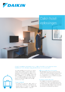 Daikin Hoteloplossingen productflyer NL17-218