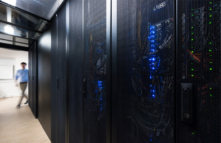 Koelaggregaten in datacenter